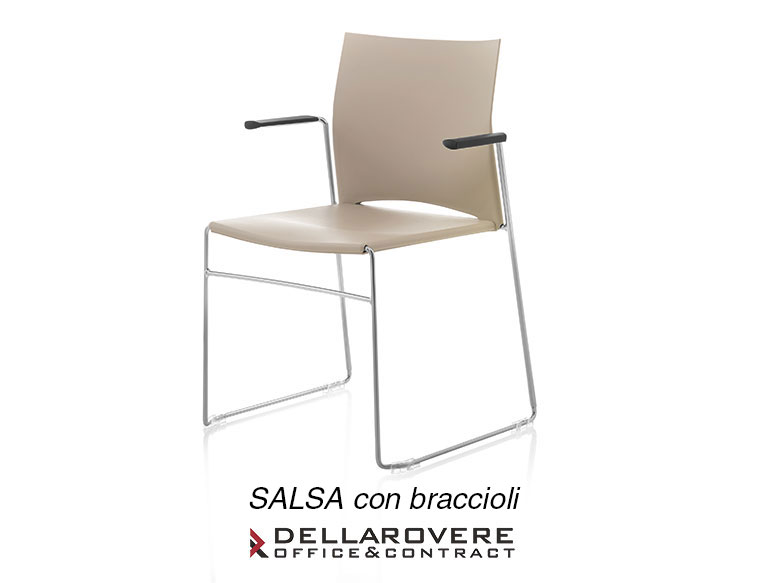 Office Chair - WAITING CHAIRS - Della Rovere_3
