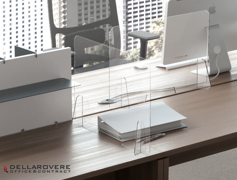 Prodotti anti COVID19 - Antibacterial partition made up of trasparent plexiglass - Della Rovere_6